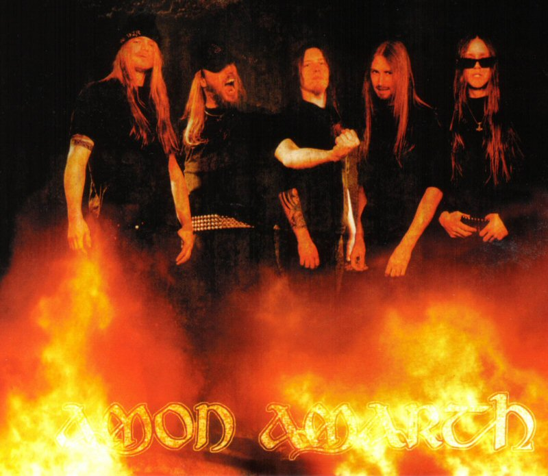 Amon Amarth - The Avenger - bandphoto