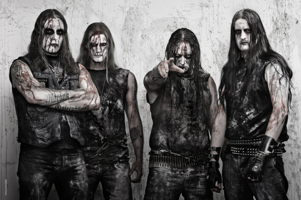 Marduk' march 2012Left to right: Morgan, Lars, Mortuus, Devo