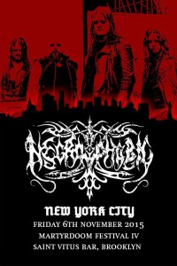 Necophobic - headline New York