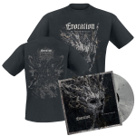 Evocation - The Shadow Archetype - Vinyl LP gray-black marbled plus t-shirt