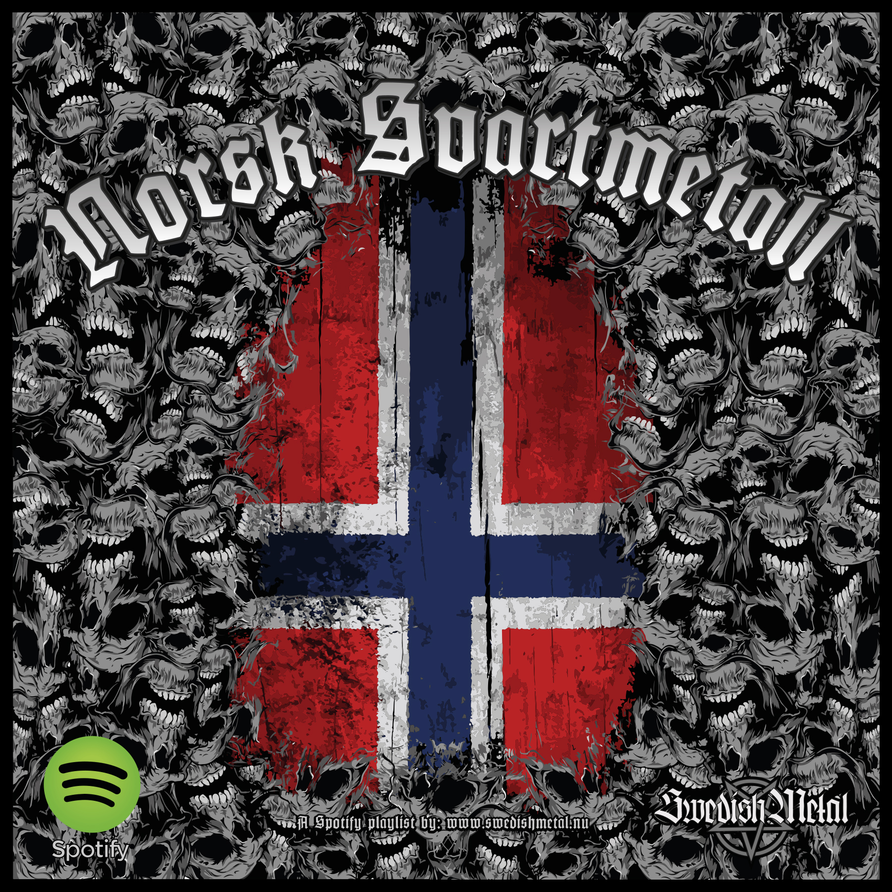 NORSK SVARTMETALL – Spotify playlist – Swedish Metal – The