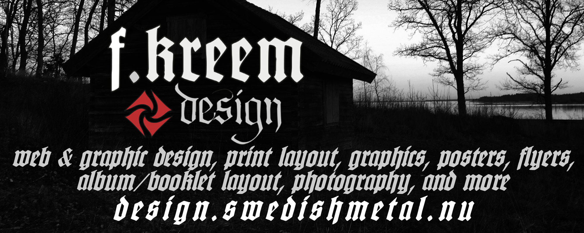 F.Kreem Design - Webb, graphic design & more
