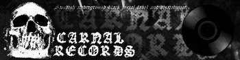 Carnal Records - Swedish underground black metal label and distribution